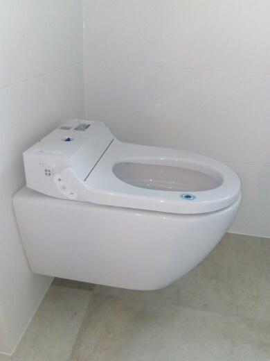 WC z funkcją higieny +